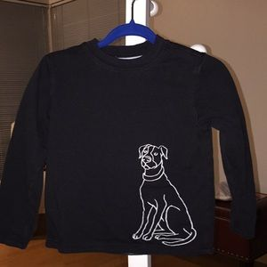 Reversible thick long sleeve T-shirt